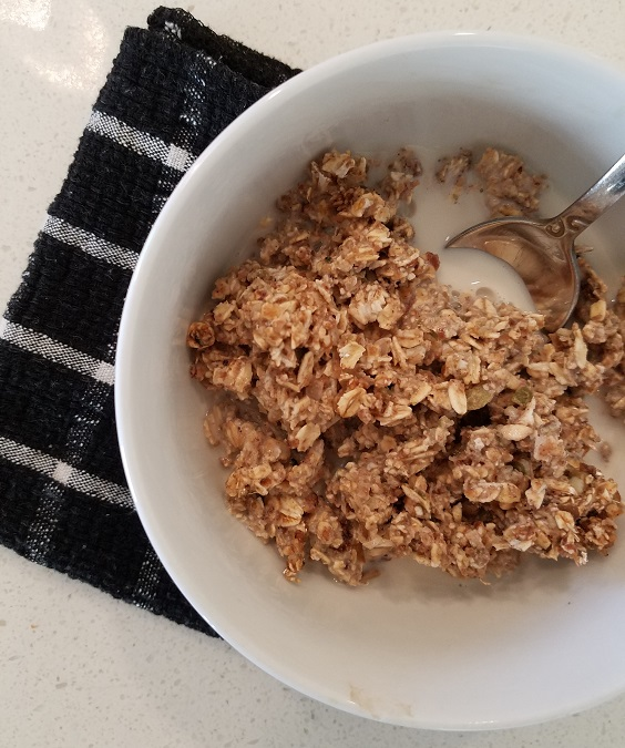 Raw Date and Oat Granola