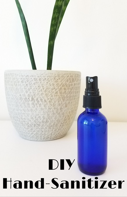 DIY Hand Sanitizer That Is Non-Toxic and Moisturizing